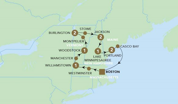 New England Fall Foliage Tours 2020.Charming New England Fall Foliage 2020 Tour Details Blue