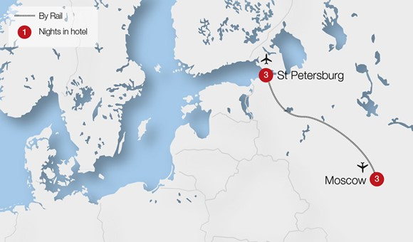 Moscow St Petersburg Tour Details Blue Water Touring
